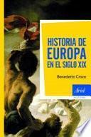 libro Historia De Europa En El Siglo Xix