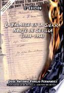 libro La Falange En La Sierra Norte De Sevilla (1934 1956)