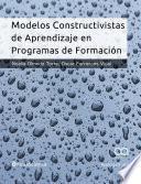 libro Modelos Constructivistas De Aprendizaje En Programas De Formación