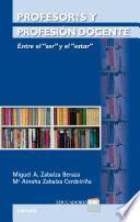 libro Profesores Y Profesión Docente