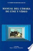 libro Manual Del Cámara De Cine Y Vídeo