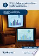 libro Aplicaciones Informáticas Para Presentaciones: Gráficas De Información. Adgd0308   Actividades De Gestión Administrativa