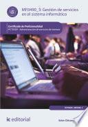 libro Gestión De Servicios En El Sistema Informático. Ifct0509