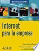 libro Internet Para La Empresa