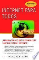 libro Internet Para Todos