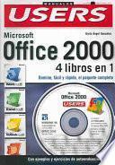 libro Microsoft Office 2000