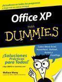 libro Office Xp Para Dummies