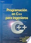 libro Programación En C++ Para Ingenieros
