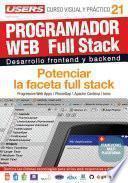 libro Programacion Web Full Stack 21   Potenciar La Faceta Full Stack