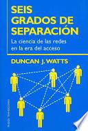 libro Seis Grados De Separación