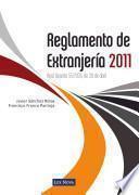 libro Reglamento De Extranjería 2011 (e Book)