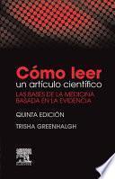 libro Cómo Leer Un Artículo Científico
