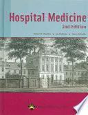 libro Hospital Medicine