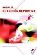 libro Manual De NutriciÓn Deportiva (color)