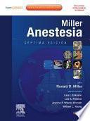 libro Miller. Anestesia + Expert Consult