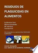 libro Residuos De Plaguicidas En Alimentos