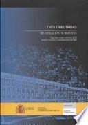 Leyes Tributarias. Recopilación Normativa. Vigésima Cuarta Edición 2013