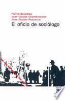 libro El Oficio De Sociólogo