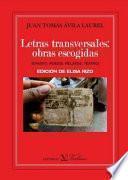 libro Letras Transversales