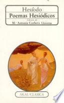 libro Poemas Hesiódicos