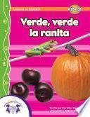 libro Verde, Verde La Ranita