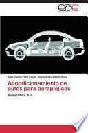 libro Acondicionamiento De Autos Para Parapléjicos