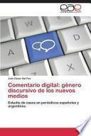 libro Comentario Digital