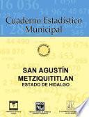 San Agustín Metzquititlán Estado De Hidalgo. Cuaderno Estadístico Municipal 1996