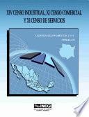 Xiv Censo Industrial, Xi Censo Comercial Y Xi Censo De Servicios. Censos Económicos, 1994. Morelos