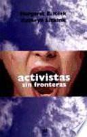 libro Activistas Sin Fronteras