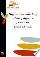 libro Dogma Socialista Y Otras Páginas Políticas (anotado)