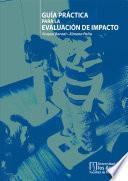 libro Guía Práctica Para La Evaluación De Impacto