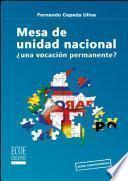libro Mesa De Unidad Nacional
