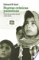 libro Nuevas Crónicas Palestinas