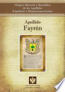 Apellido Fayrén
