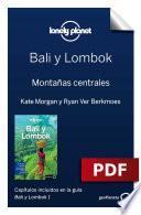 libro Bali Y Lombok 1. Montañas Centrales